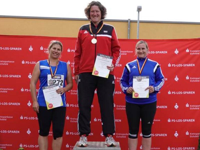 Silber für Sonja Römmert bei den Deutschen Seniorenmeisterschaften