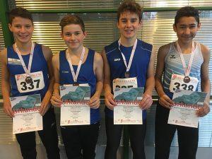 TVO-Staffel stürmt zu Bronze – Leichtathletik-Hallensaison in vollem Gange