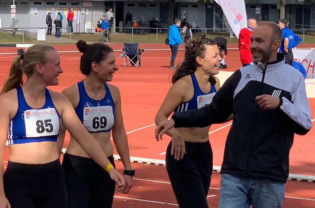 Inka Renninger und TVO-Team auf Platz 4