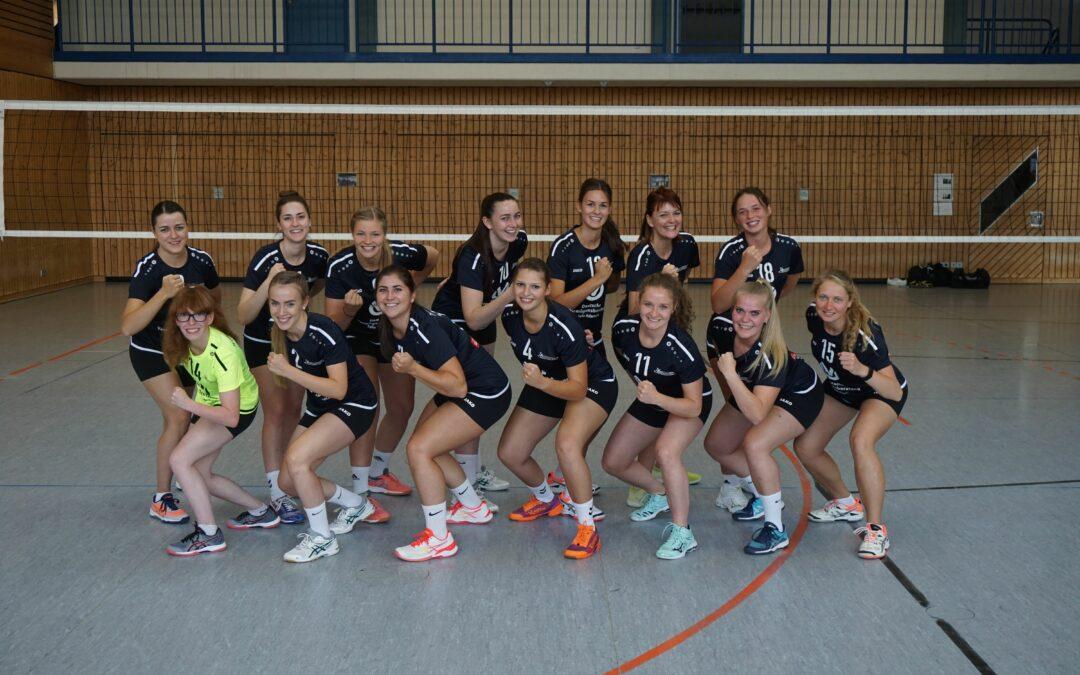 TVO Damen starten mit 3:0 Sieg in die neue Runde (17:25, 21:25, 19:25)