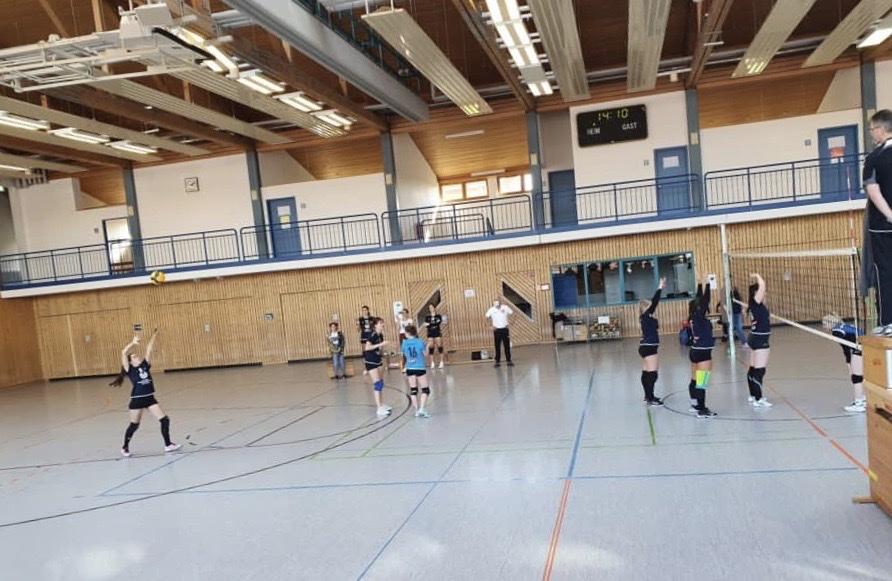 TV Oberhaugstett vs. VfL Oberjettingen I Damen Volleyball A-Klasse West I