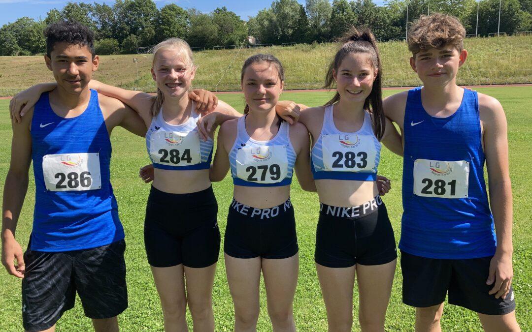 U16-Mehrkampf-Team überzeugt