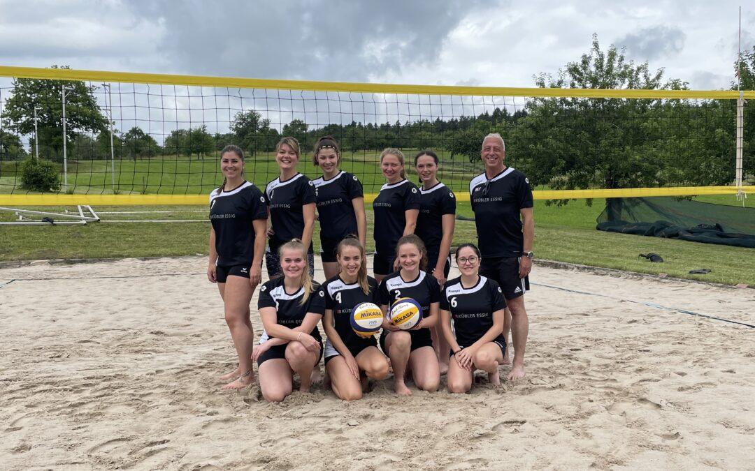 Zweiter erfolgreicher Spieltag des VLW- Quattro Beach Liga Turnier in Oberhaugstett